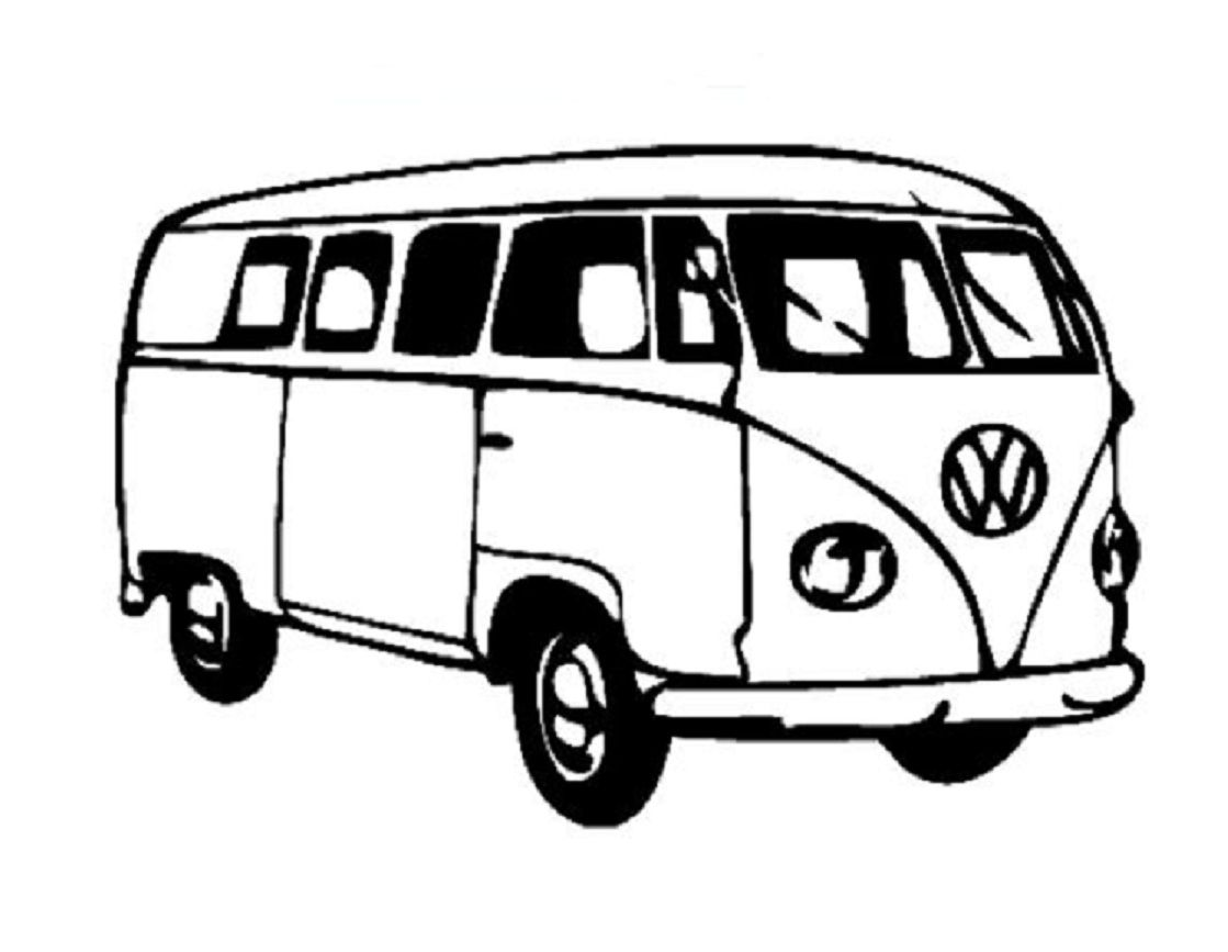 Black Vw Bus