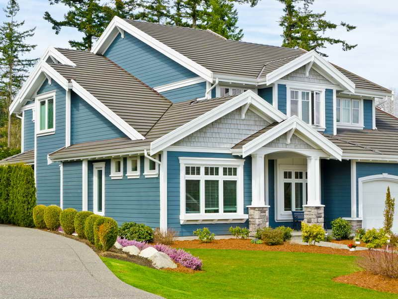 blue house color blue exterior house paint colors paint colors - Exterior House Colors Blue
