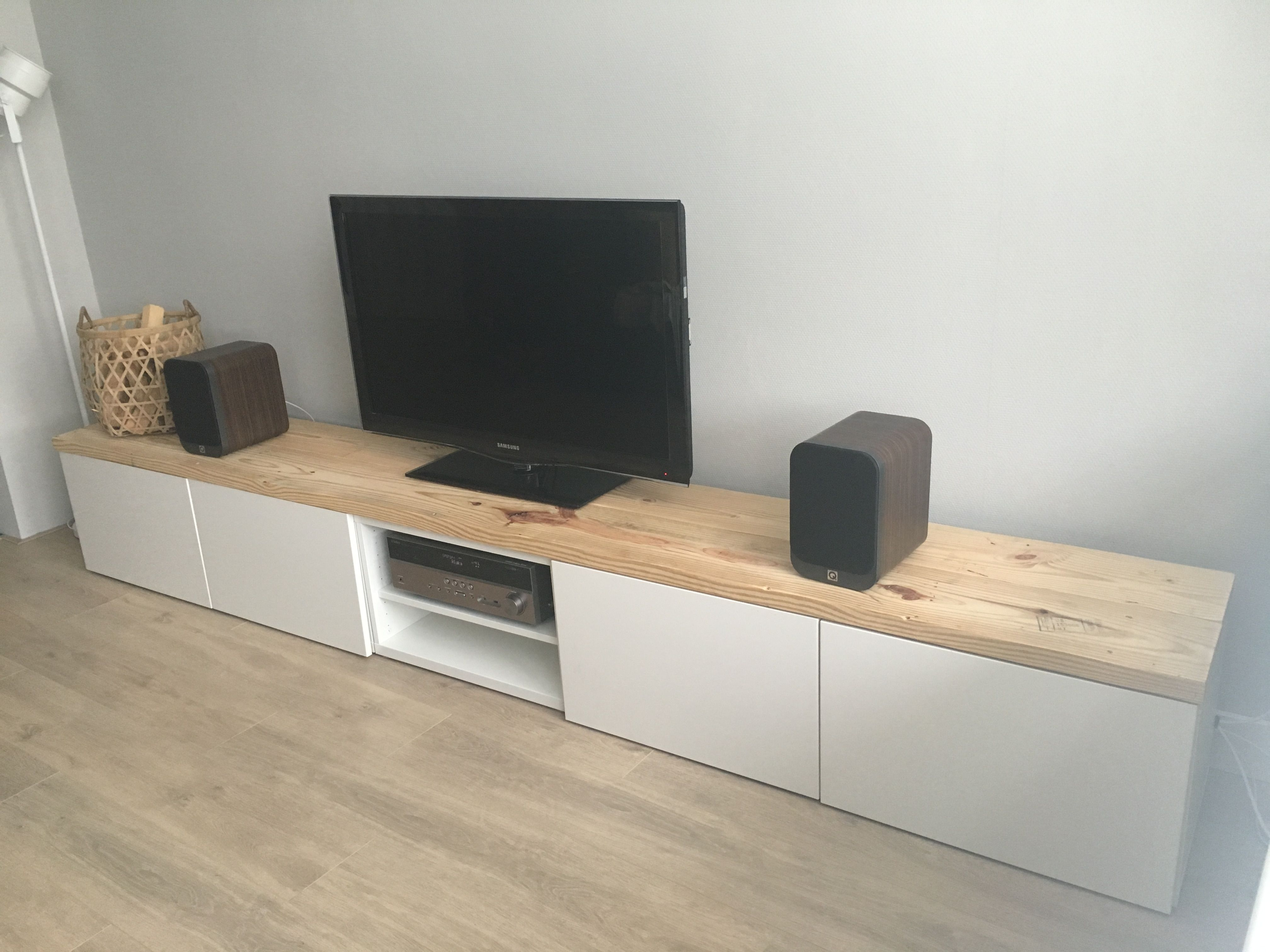 Muebles Tv Ikea Ikea Besta Tv Hack Pomysły Do Domu Pinterest