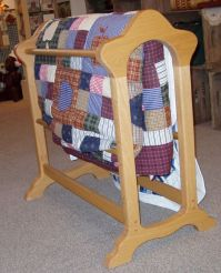 Quilt rack | Products I Love | Pinterest | Woodworking ...