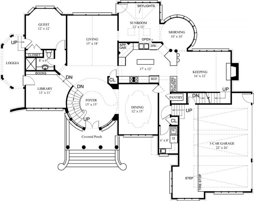 Luxury House Floor Plans And Designs #Treehouse Pinned By
