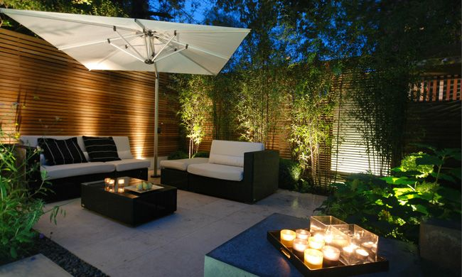 Beautiful Back Garden Patio Ideas Contemporary Home Decorating