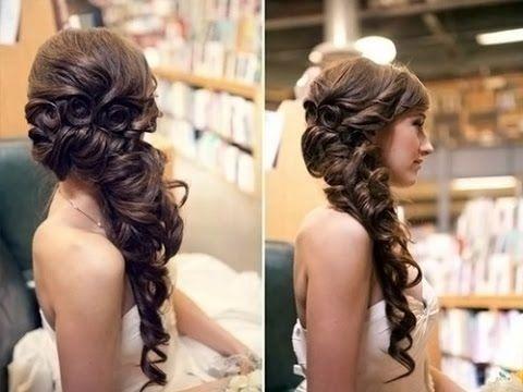 Hochzeit Frisuren Für Lange Haare Braut Prom Hochsteckfrisur