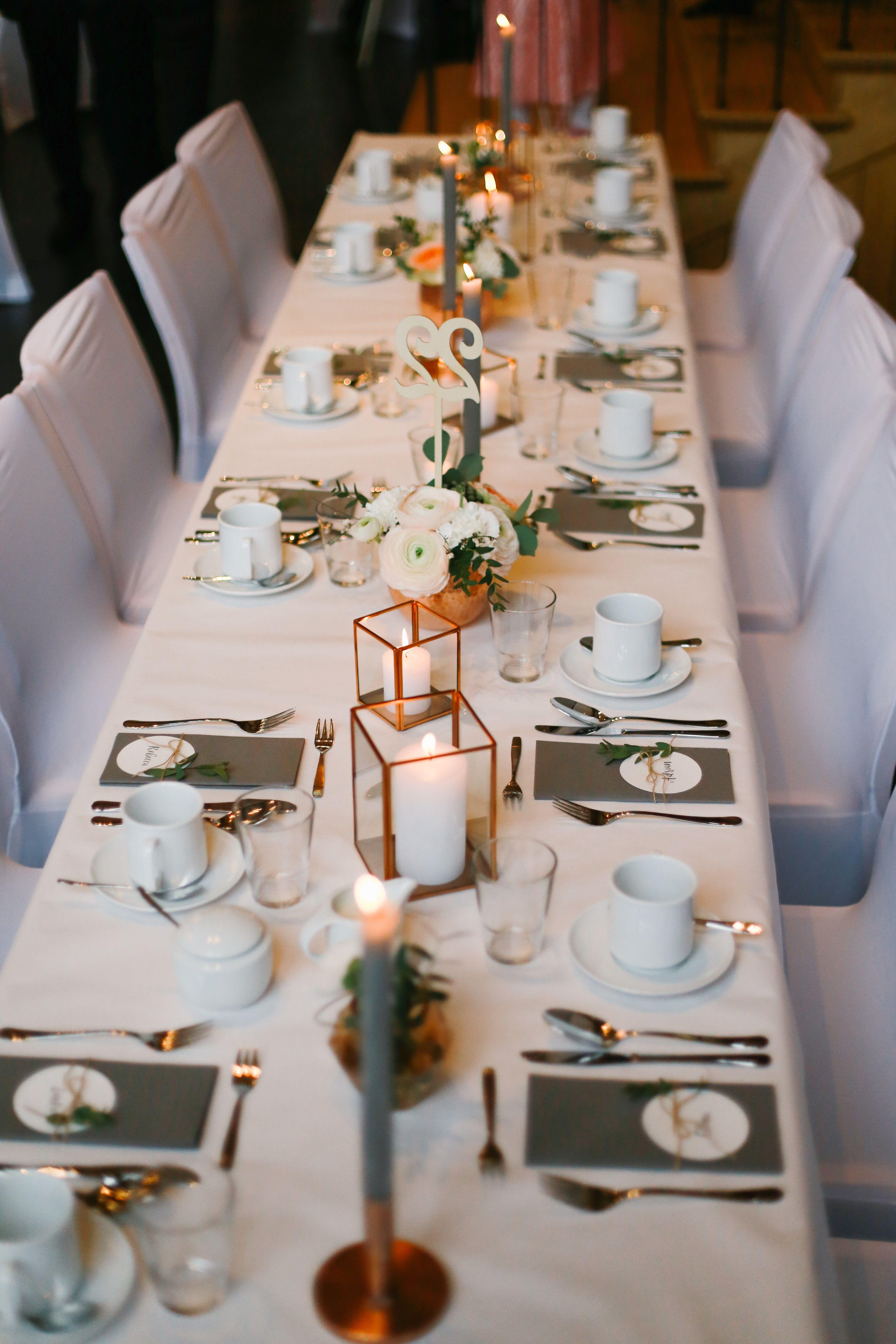 Standesamt Dekoration Hochzeit Tolle Tischdekoration Fur Die Lange