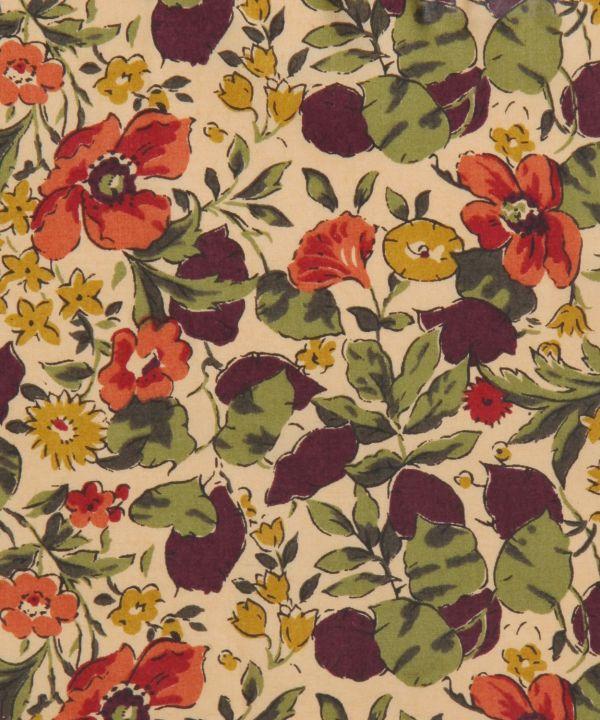 Liberty Art Fabrics Poppy And Honesty Tana Lawn Fabric