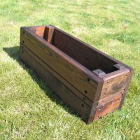 How to Build Rectangular Planters - http://www ...