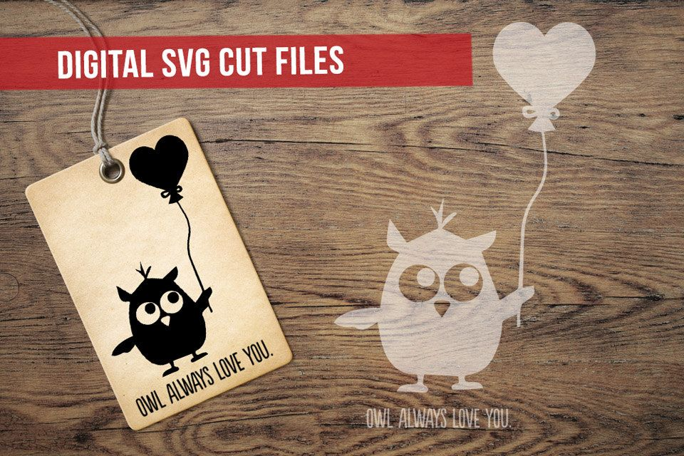 Download Owl Always Love You SVG Cutting File Vinyl Cutting Decal ...