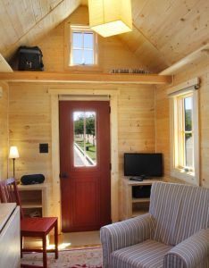 Tiny home interior this house has  spacious livingroom also tumbleweed jt homes pinterest rh