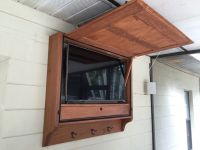 Outdoor Tv Cabinet Plans Furniture  Cabinets Matttroy