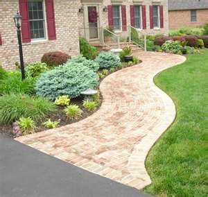 Home Sidewalk Idea For The Front Of The House Outside