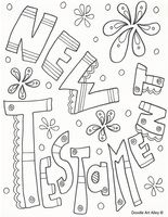 Some New Testament & Old Testament coloring pages word