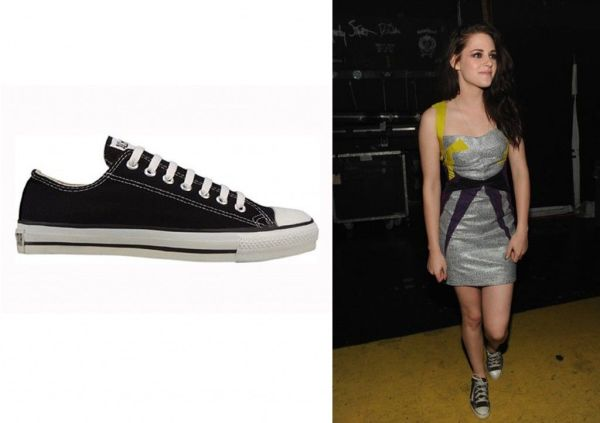 Converse Chuck Taylor All Star Low Top black kristen