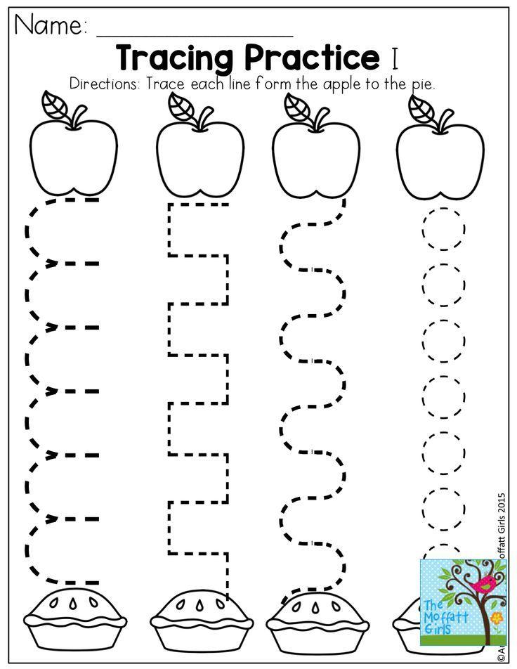 September preschool, Preschool apple activities and