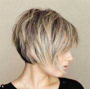 messy short layered haircuts 2018-2019