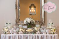 Elegant wedding candy buffet | The Sweet Society's work ...