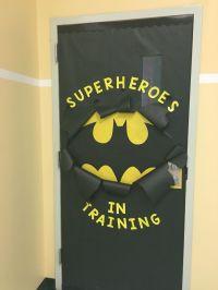 Batman Inspired classroom door!
