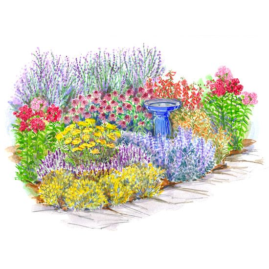 Garden Plans That Celebrate Summer Gardens Tough! And Perennials