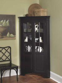black corner curio cabinet | Roselawnlutheran