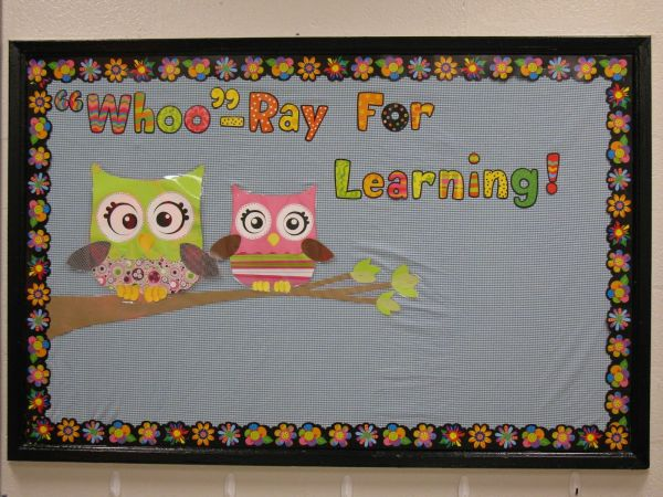 Owl Classroom Bulletin Board Ideas