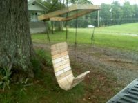 Paracord Laced Pallet, Hanging Chair | Pallets, Swings and ...