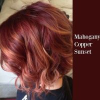 Mahogany copper sunset | Hair | Pinterest | Hair coloring ...