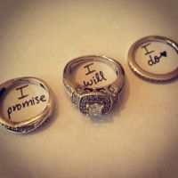 I promise, I will, I do. Love! rings Must do!!!!! Omg ...