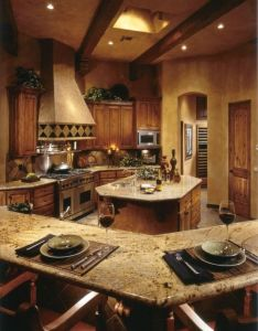 Future house also rustic country kitchen home  cabin pinterest rh