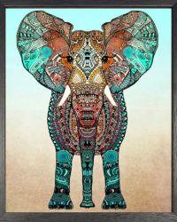 Bohemian Elephant Printable Wall Art Boho by ...
