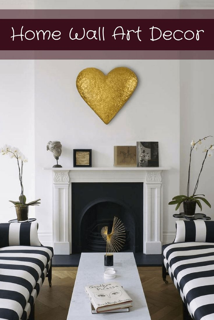 Home wall art decor is trendy cute and stylish you can use all different types of decorations to create  warm inviting space also rh pinterest