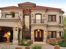 Mediterranean Style House Exterior Designs