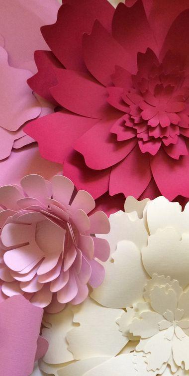 Beautiful   paper flower wall decor for weddings  parties also outlook rosamatiauda hotmail ballite pinterest giant rh