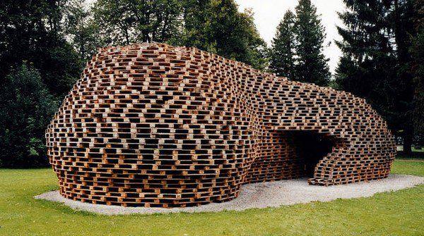 Amazing Pallet House Designs Contemporary Architecture Ideas