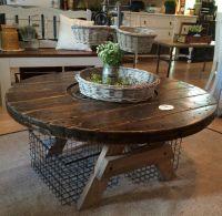 Spool coffee table | DIY | Pinterest | Coffee