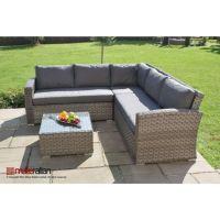 Columbia Rattan garden furniture Small Corner Sofa Set ...