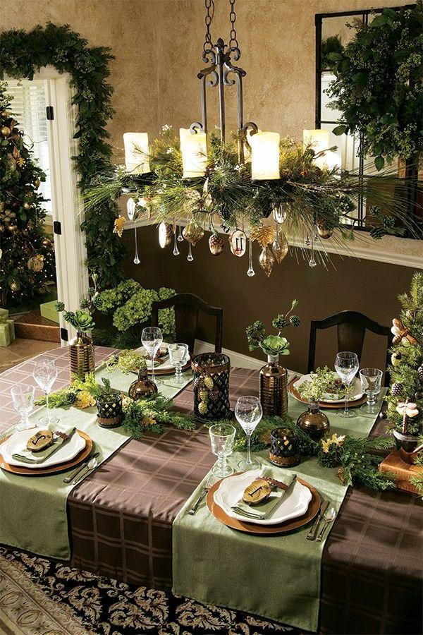 Weihnachtsdeko tisch home sweet home - Weihnachtsdeko tisch ...