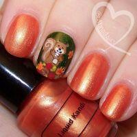 http://www.echopaul.com/ Autumn Nail Art Ideas ...