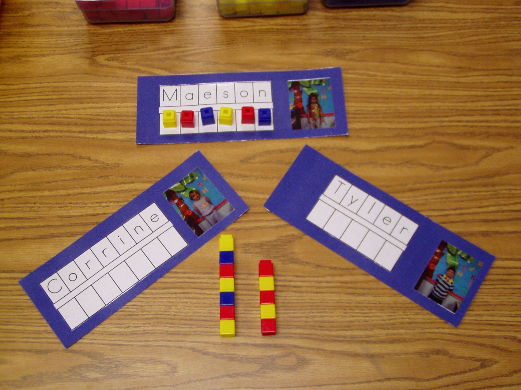 Picture Name Card Activities 1 Sort Into Groups Boys