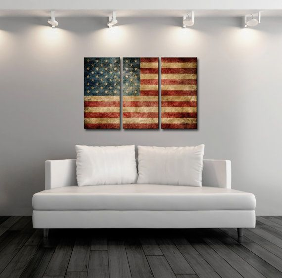 10 Ways To Display Antique American Flags In Your Home An Large