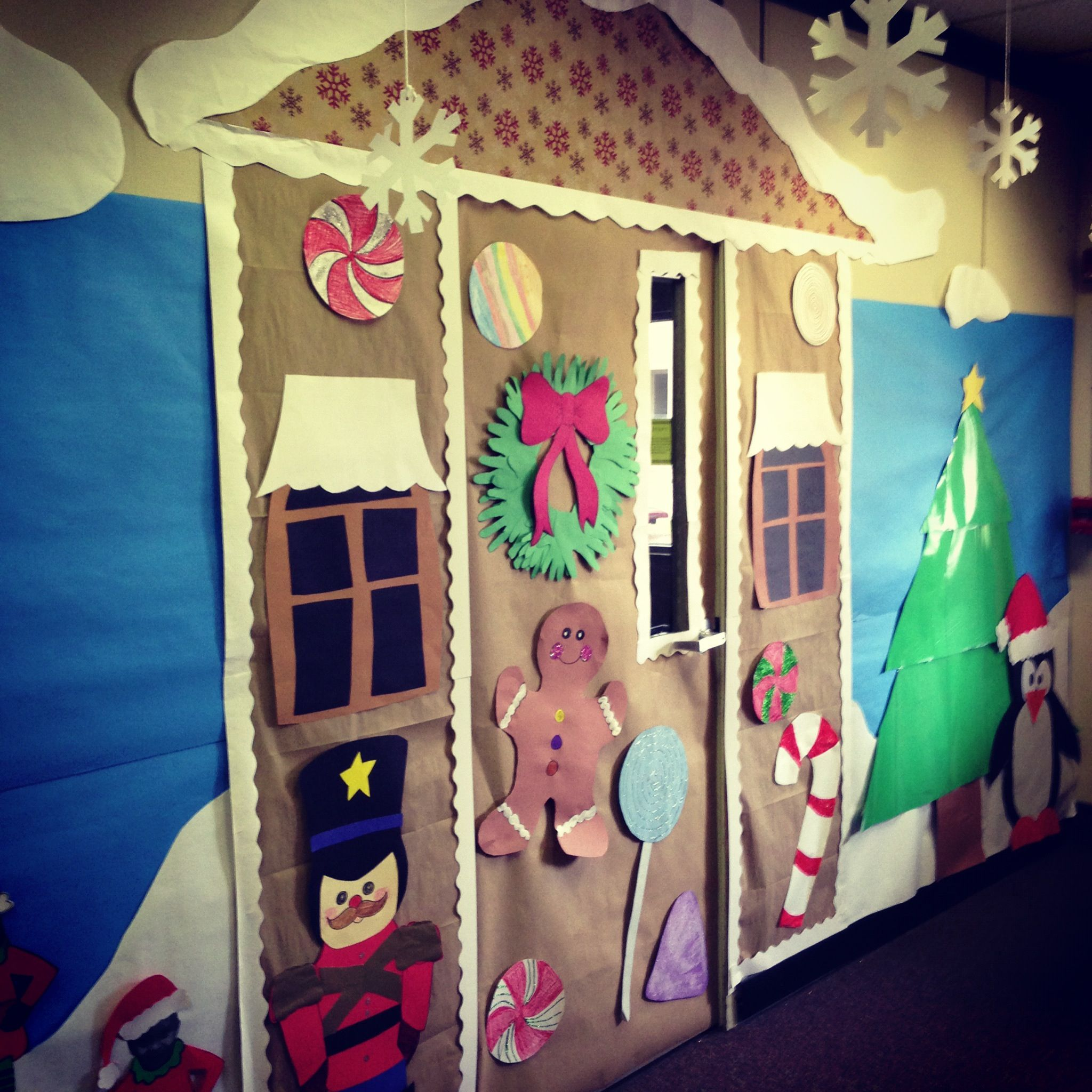 Gingerbread House Classroom Door Decorations Bing Images