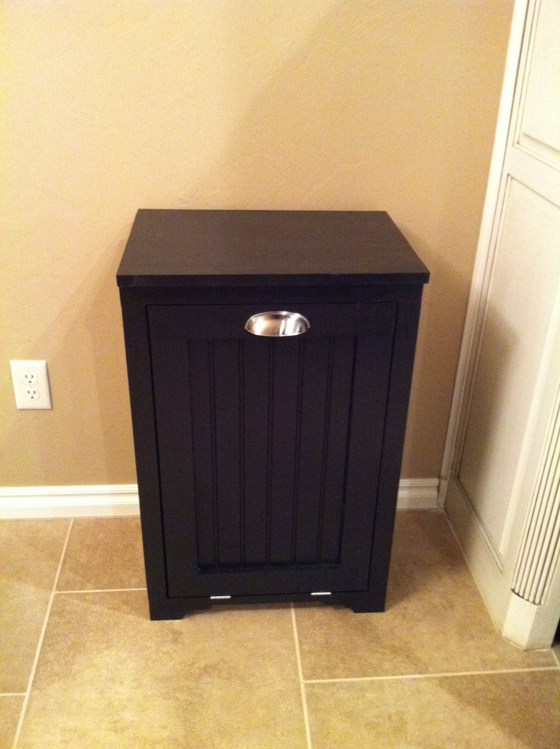 hide away trash bin kitchen draining board can a way ideas diy and craft pinterest