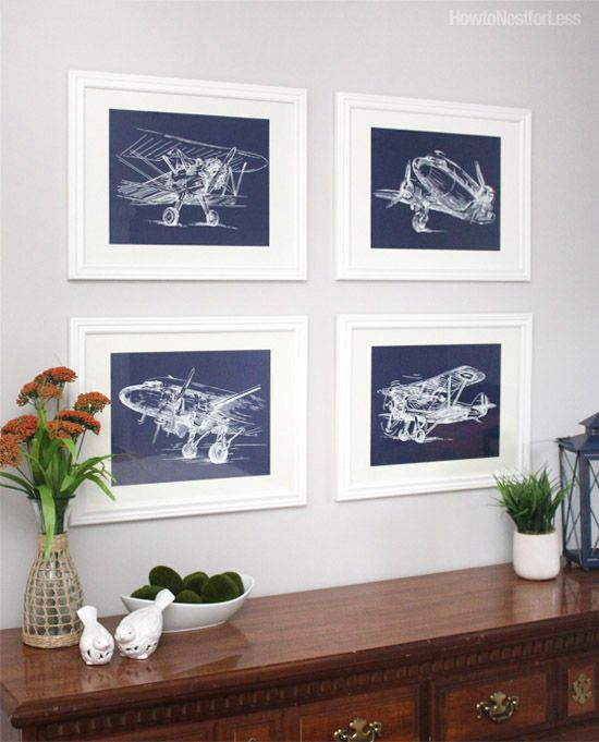 Room ideas also vintage sketch airplane posters set of airplanes rh pinterest