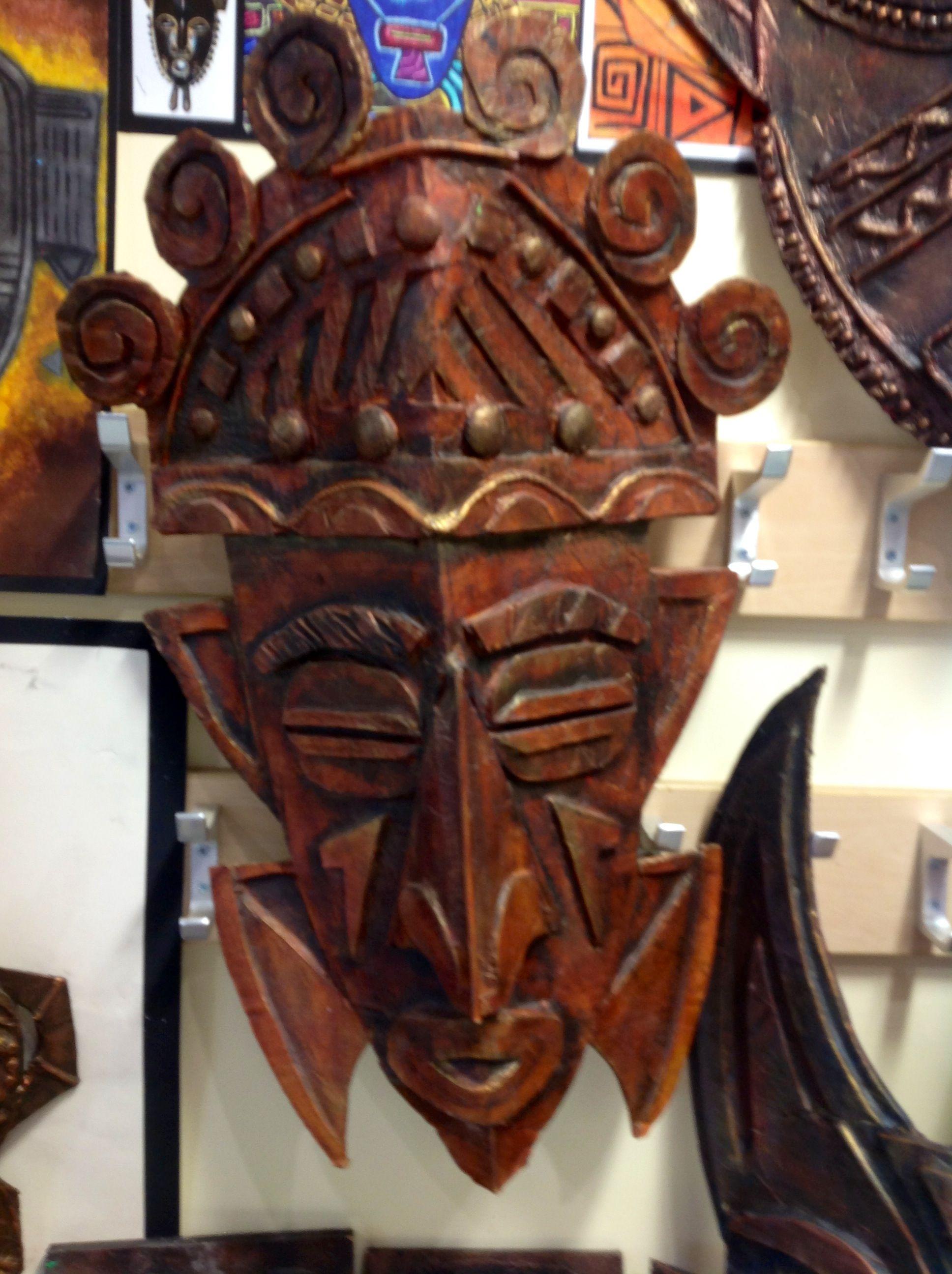 African Cardboard Mask Gcse Art