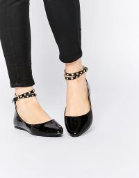 Rotating Bow Tie Watch at ASOS | Ballet flat, Ankle straps ...