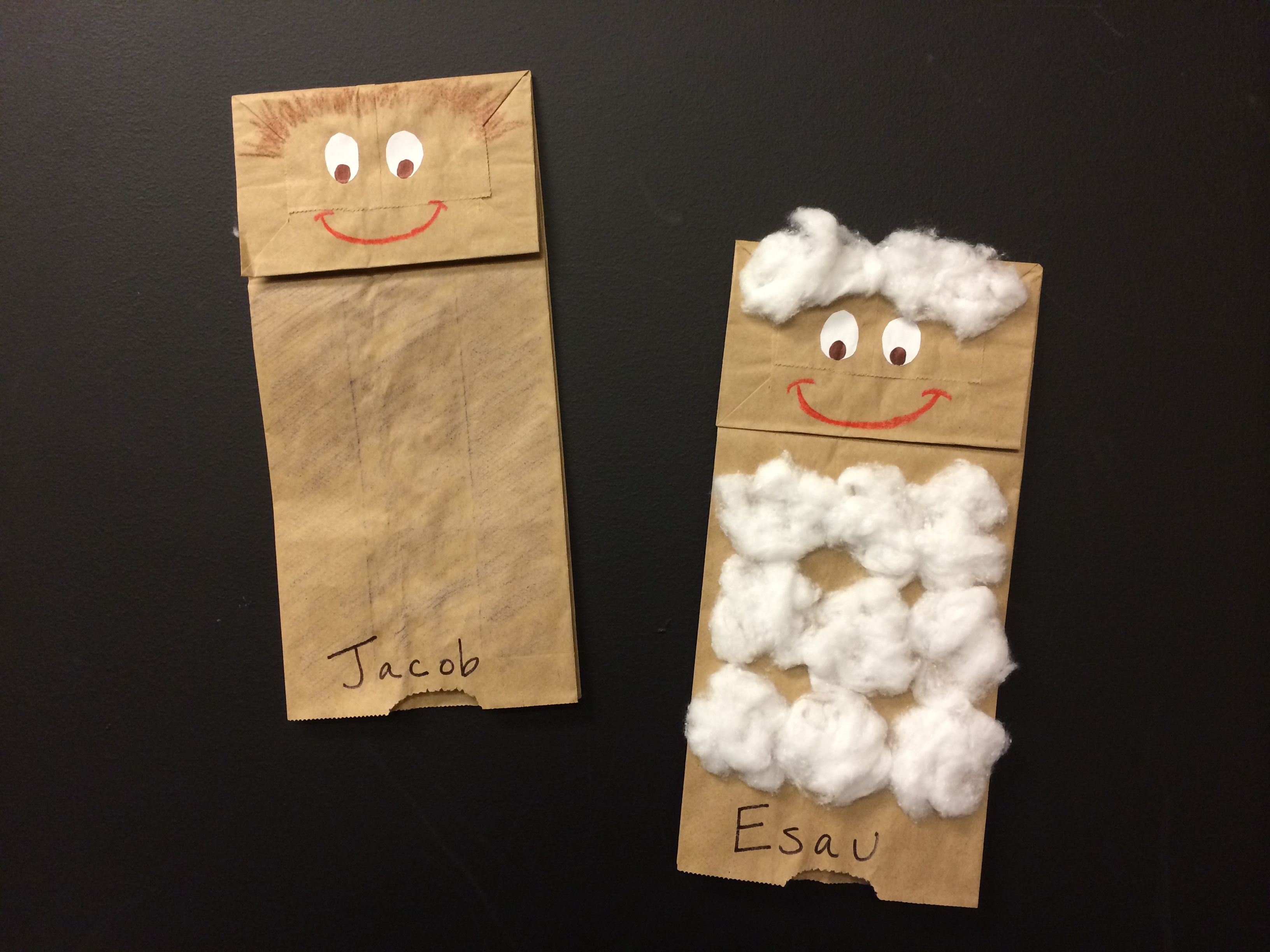 Jacob And Esau Puppets