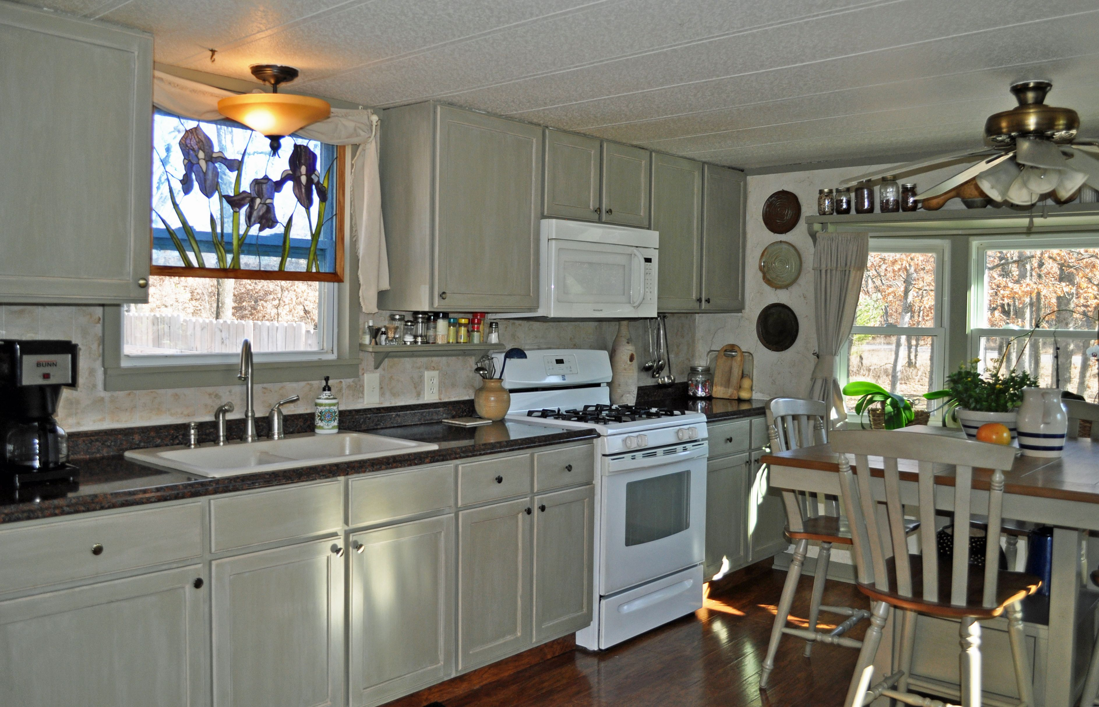 mobile home kitchen sink outdoor kitchens ideas single wide diy 43remodel 43 makeover 43small