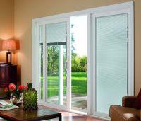 gorgeous modern window treatment ideas for sliding patio ...