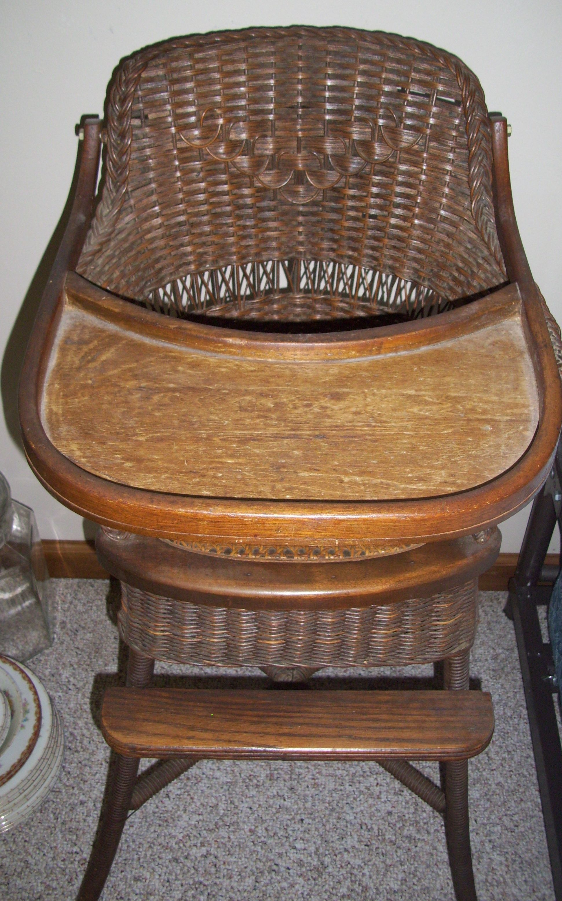 antique wicker chairs desk chair navy blue high