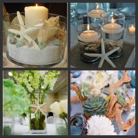 beach theme bridal shower centerpiece ideas | Weddings Are ...
