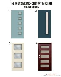 Modern Front Door Options