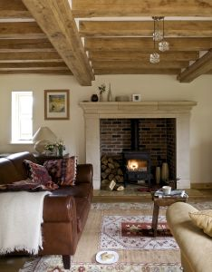 Sitting room internal also weekend countdown cottage living rooms holiday decorating and rh in pinterest